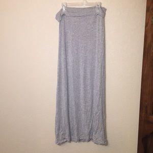 Dresses & Skirts - Lift Gray/Grey maxi skirt